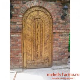 """Дверь под старину из массива дерева """"Есения"""""""