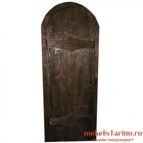 """Дверь под старину из массива дерева """"Всемила"""""""