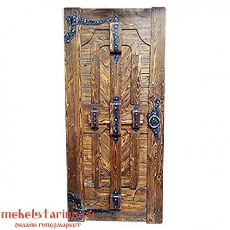"""Дверь под старину из массива дерева """"Вакула"""""""