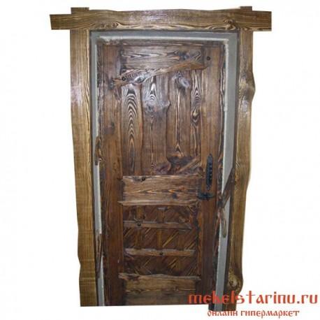 """Дверь под старину из массива дерева """"Божидара"""""""