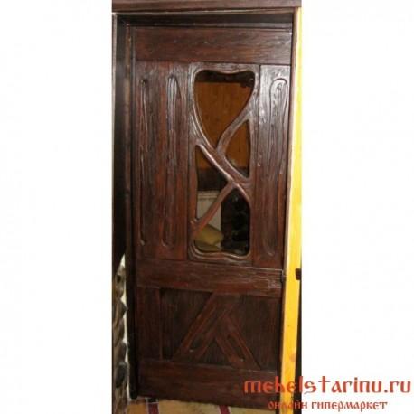 """Дверь под старину из массива дерева """"Болеслава"""""""