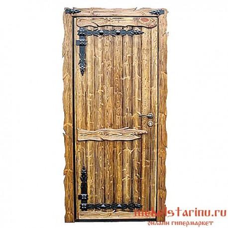 """Дверь под старину из массива дерева """"Братислава"""""""