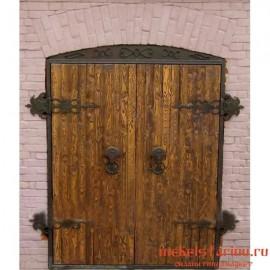"""Дверь под старину из массива дерева """"Бронислава"""""""