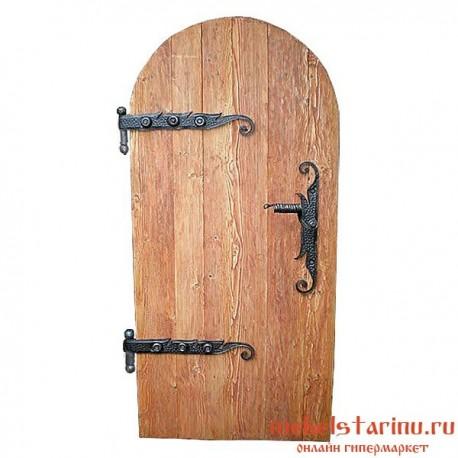 """Дверь под старину из массива дерева """"Велимира"""""""