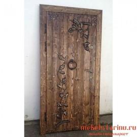 """Дверь под старину из массива дерева """"Ванда"""""""