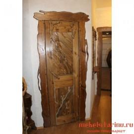 """Дверь под старину из массива дерева """"Велика"""""""