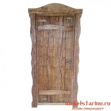 """Дверь под старину из массива дерева """"Венцеслава"""""""