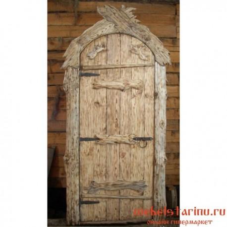 """Дверь под старину из массива дерева """"Весела"""""""