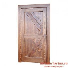 """Дверь под старину из массива дерева """"Владимира"""""""