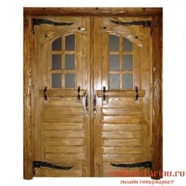 """Дверь под старину из массива дерева """"Влада"""""""