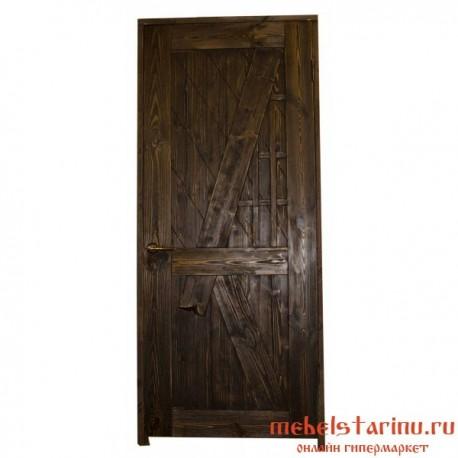 """Дверь под старину из массива дерева """"Воислава"""""""