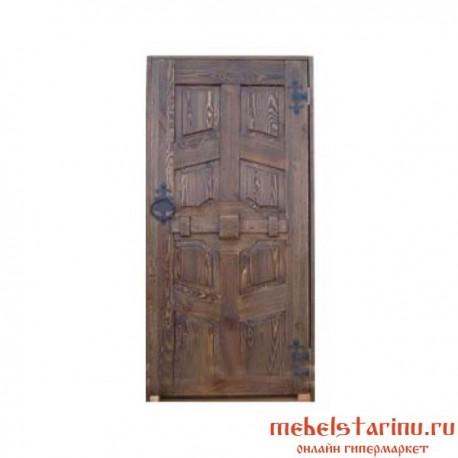 """Дверь под старину из массива дерева """"Вторуша"""""""