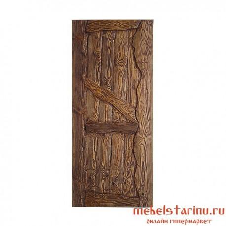 """Дверь под старину из массива дерева """"Ждана"""""""