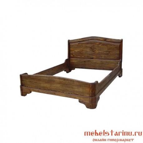 """Кровать под старину из массива дерева """"Аленка"""""""