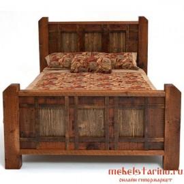 """Кровать под старину из массива дерева """"Альдона"""""""