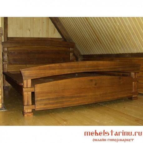 """Кровать под старину из массива дерева """"Анка"""""""