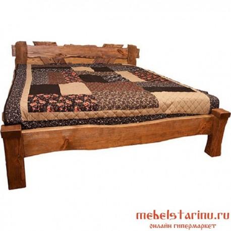 """Кровать под старину из массива дерева """"Богданка"""""""