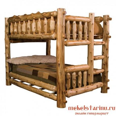 """Кровать под старину из массива дерева """"Богуслава"""""""