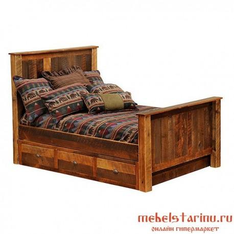 """Кровать под старину из массива дерева """"Боянка"""""""