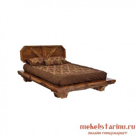 """Кровать под старину из массива дерева """"Буслава"""""""