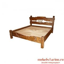 """Кровать под старину из массива дерева """"Вила"""""""