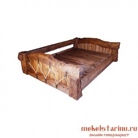 """Кровать под старину из массива дерева """"Власта"""""""