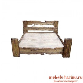 """Кровать под старину из массива дерева """"Воислава"""""""