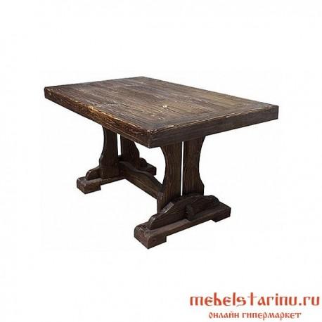 """Стол под старину из массива дерева """"Берислав"""""""