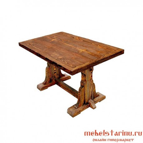 """Стол под старину из массива дерева """"Боримир"""""""
