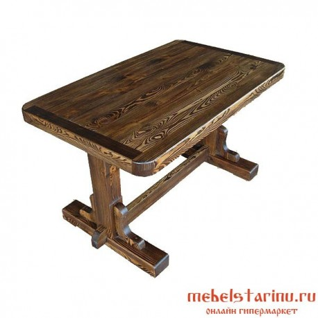 "Стол под старину из массива дерева ""Гудислав"""
