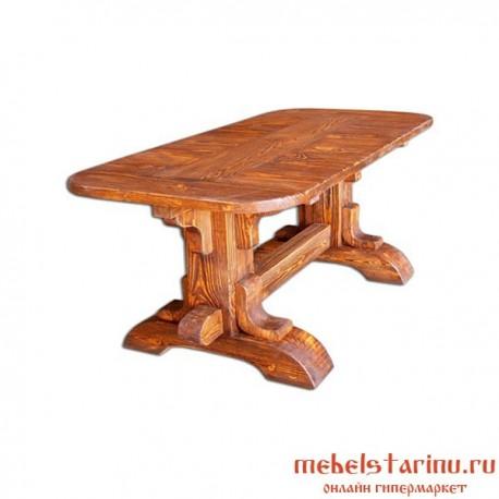"""Стол под старину из массива дерева """"Гудим"""""""