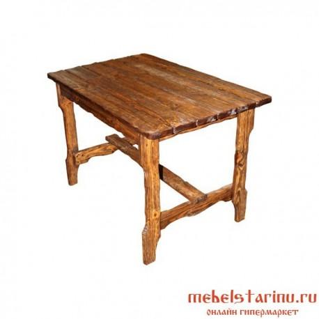 """Стол под старину из массива дерева """"Крив"""""""