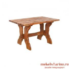 """Стол под старину из массива дерева """"Лебедь"""""""