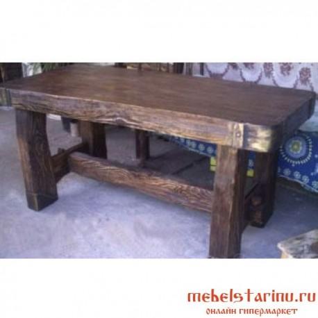 """Стол под старину из массива дерева """"Любослав"""""""