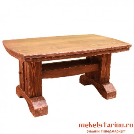стол под старину из массива дерева малой