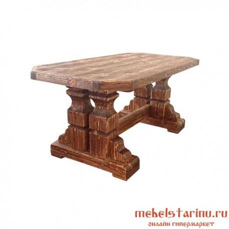 """Стол под старину из массива дерева """"Мечислав"""""""