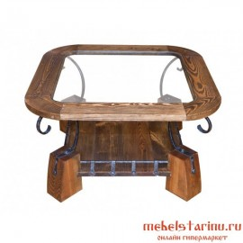 """Стол под старину из массива дерева """"Милан"""""""