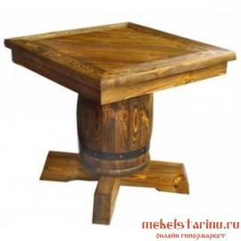 "Стол под старину из массива дерева ""Молчан"""