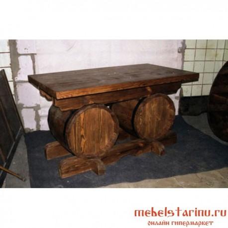 """Стол под старину из массива дерева """"Невзор"""""""