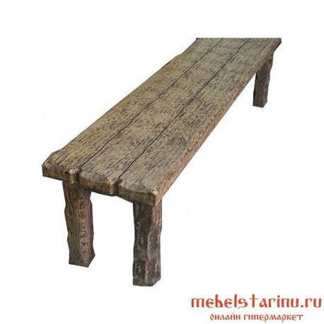 """Скамейка под старину из массива дерева Годислава"""""""