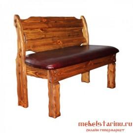 """Скамейка под старину из массива дерева """"Держислава"""""""