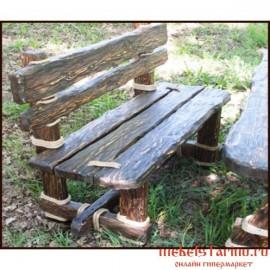 """Скамейка под старину из массива дерева """"Добромира"""""""