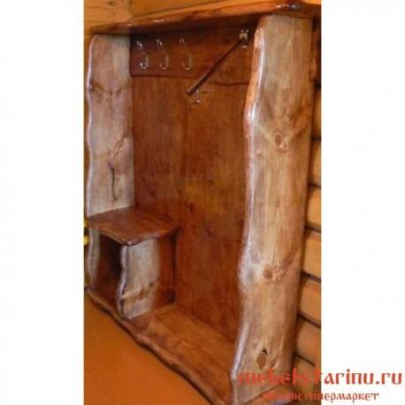 """Шкаф под старину из массива дерева """"Свентовид"""""""