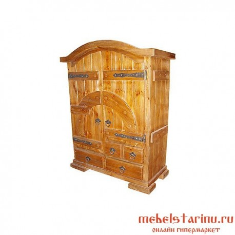 """Шкаф под старину из массива дерева """"Радислав"""""""