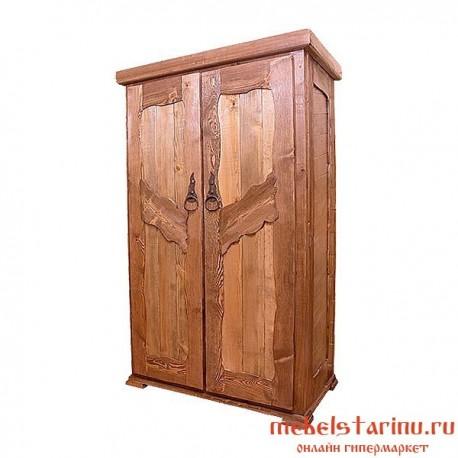 "Шкаф под старину из массива дерева ""Радослав"""