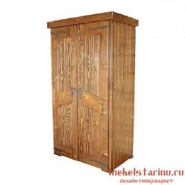 """Шкаф под старину из массива дерева """"Святополк"""""""