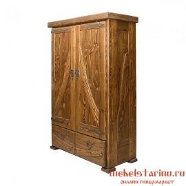 "Шкаф под старину из массива дерева ""Снанислав"""