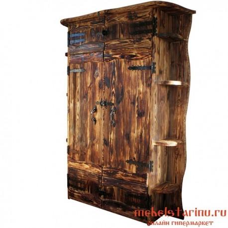 """Шкаф под старину из массива дерева """"Твердислав"""""""