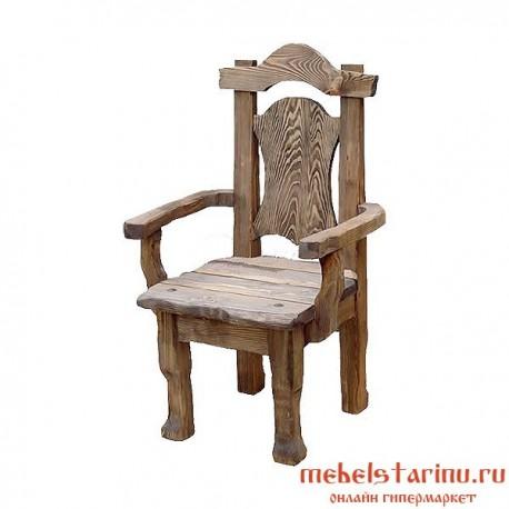 """Кресло под старину из массива дерева """"Беско"""""""