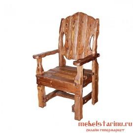"""Кресло под старину из массива дерева """"Бойко"""""""